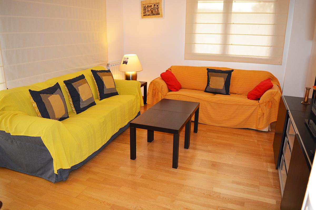 Alquiler Apartamento amplio Tossa de Mar - Salón 1