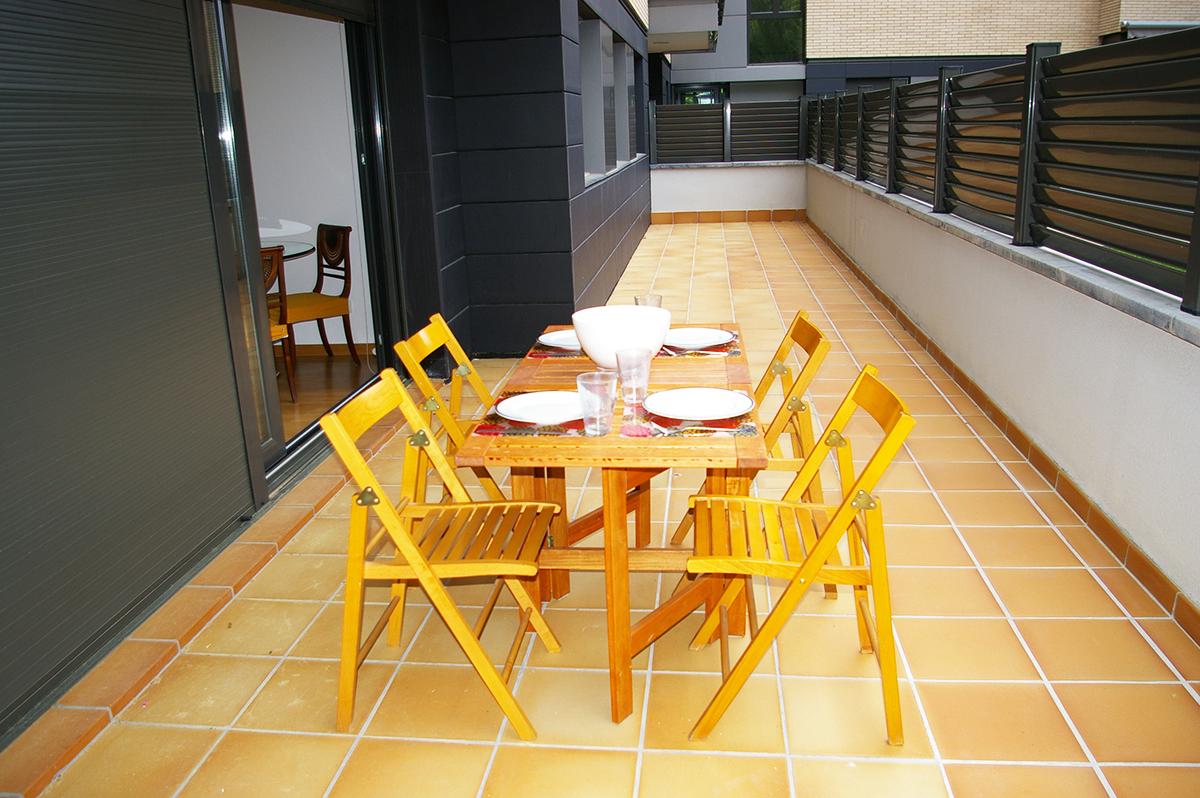 Alquiler Apartamento amplio Tossa de Mar - Terraza