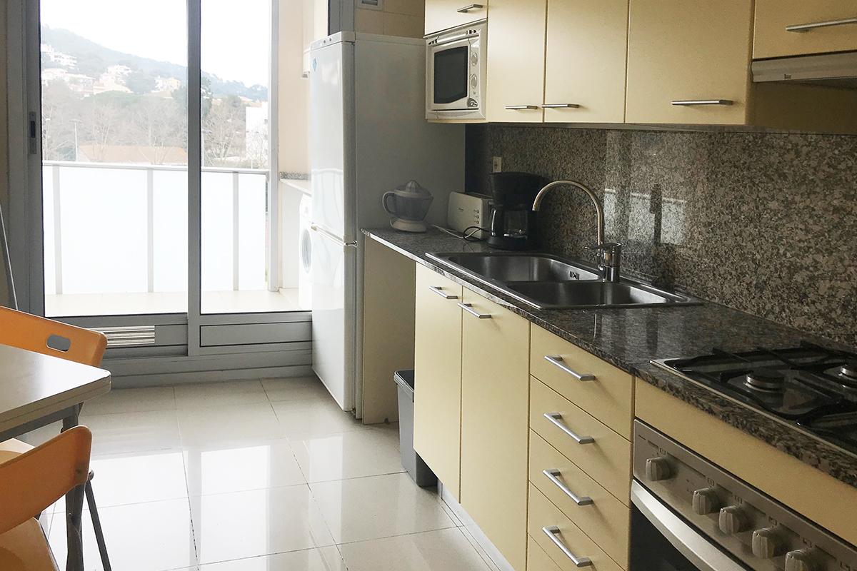 Apartamentos vacacionales Costa Brava - Cocina