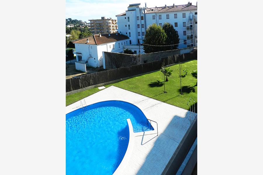 Apartamentos vacacionales Costa Brava - Piscina
