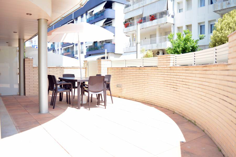 Apartamentos vacacionales Costa Brava - Terraza Exterior